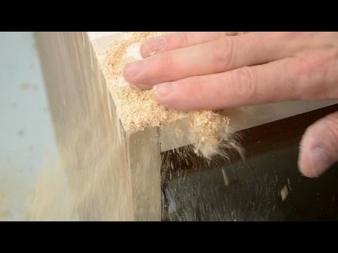 Wood Joint Gap Fill Trick Youtube