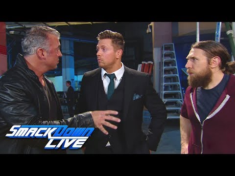 The Miz picks Shane McMahon for Team SmackDown at Survivor Series: SmackDown LIVE, Nov. 6, 2018