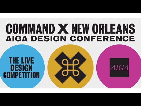 2015 AIGA Design Conference | Command X 5 | Day 1