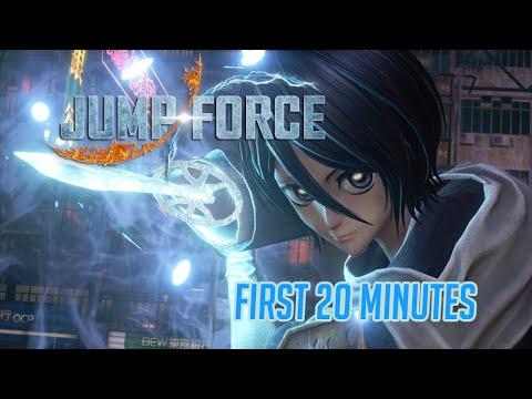 First Twenty Minutes Jump Force 1st Beta