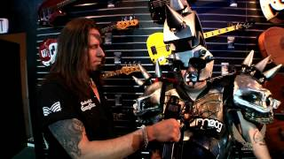 Dean Guitars N.A.M.M. 2015 Highlights -  Beefcake the Mighty