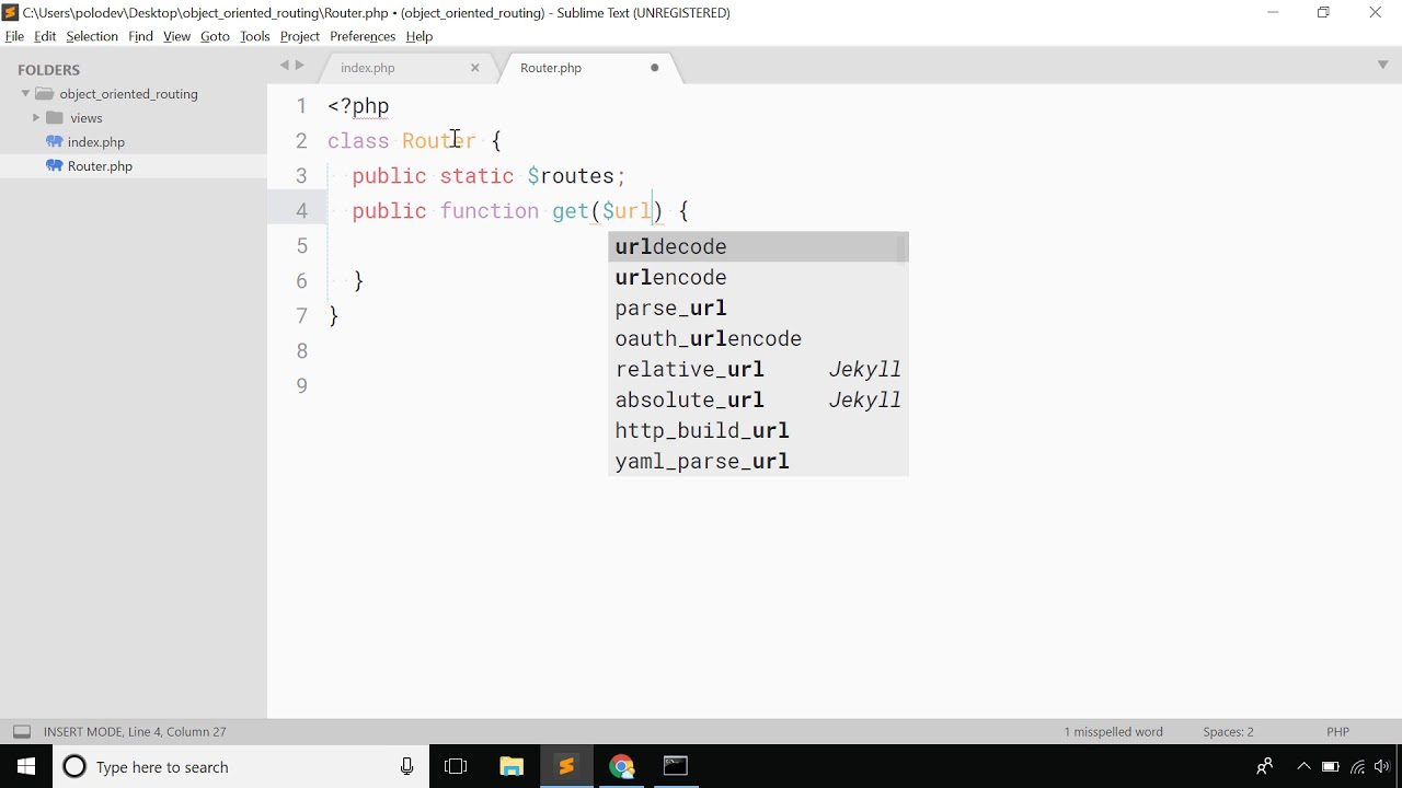 php mysql tutorial - Object oriented clean url / routing in php with server  configuration - Bangla