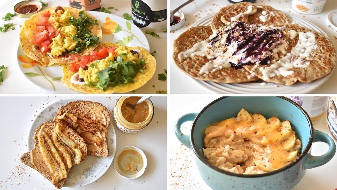 Desayuno vegetariano para bajar de peso
