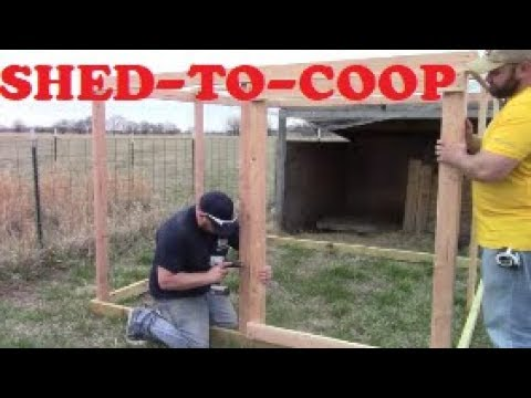 Sheep Shelter Converted Into A Chicken Coop For My Meat Birds!?! Jesse Doing Any Better??