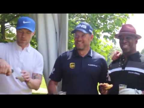 Lee Westwood Wentworth Hole in One with Alan Shearer, Ian Wright & Ronan Keating