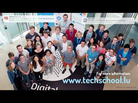 Luxembourg Tech School - a year in review