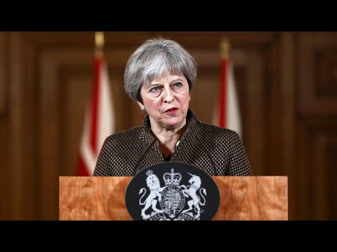 Theresa May: Syria strikes \'right and legal\' option