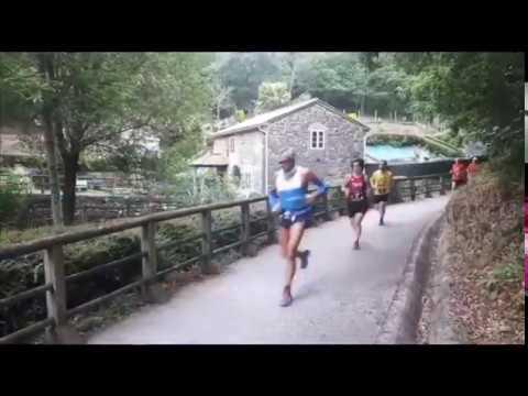 Os 21 do Camiño vuelve a llenar de corredores el recorrido entre Palas y Melide