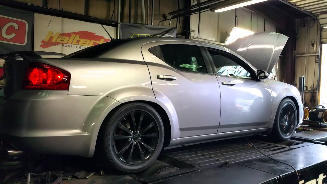 2013 Dodge Avenger 3 6 Pentastar Dyno Run Youtube