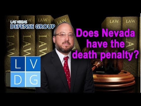 Does Nevada still have the death penalty?