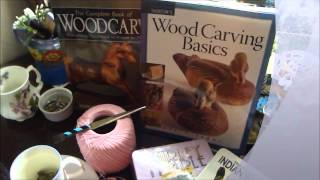 Wood Carving Books, Crochet, Sweet Prunes, Indian Wars-shirley's Dvd 3-1-12.wmv