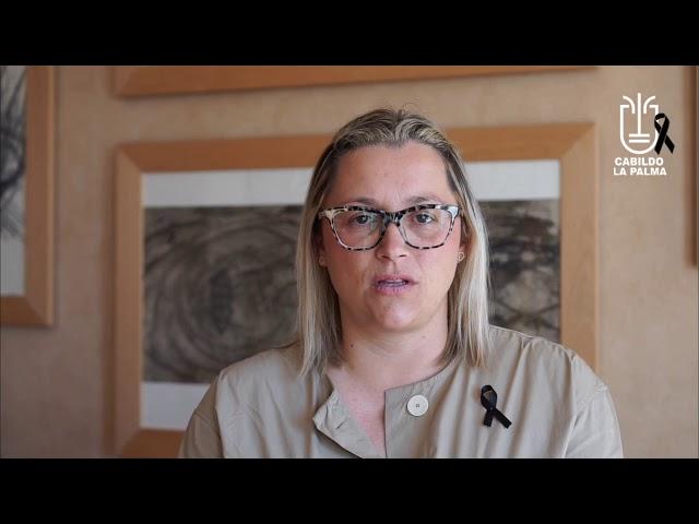 Declaraciones de Nayra Castro sobre los Test de coronavirus a trabajadores del Cabildo de La Palma