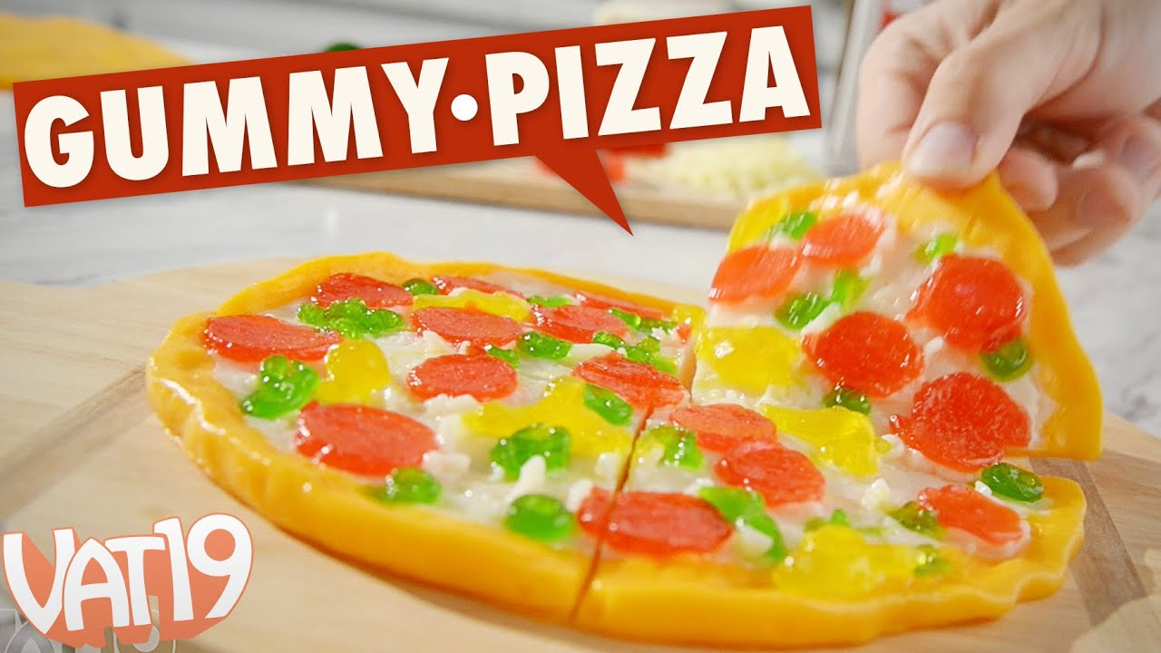 original gummy pizza from vat19 youtube