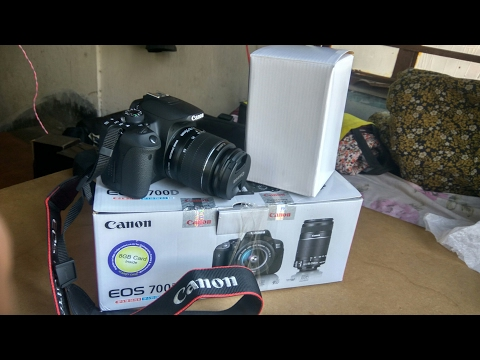 Canon EOS 700D / Rebel T5I UNBOXING, Hands on , Review With Sample Picture & Video