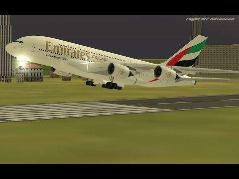 Flight 787 - Advanced -Airbus A380 - [EMIRATES from QATAR-Do