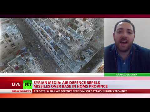 Syrian air defenses respond to missiles over Homs province – state media