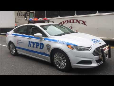 COMPILATION OF NYPD POLICE UNITS RESPONDING IN VARIOUS NEIGHBORHOODS OF NEW YORK CITY.  19