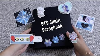 i received a BTS Jimin scrapbook as my birthday gift | wens_lab