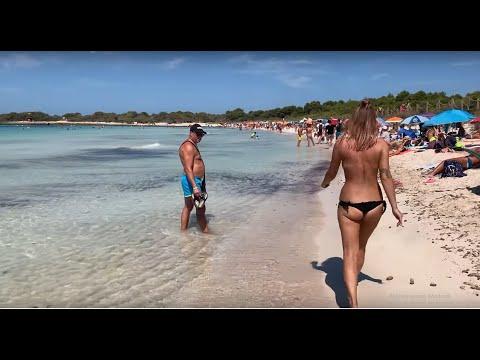 Menorca - Ciutadella Port & Best Beaches🌴 4K