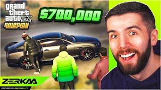 Driving A $700,000 Bentley In GTA 5 RP!