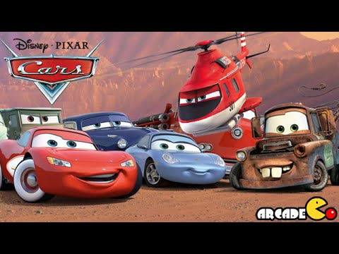 Disney Pixar Cars Fast as Lightning McQueen - Lightning McQueen Vs All Characters - Disney Cars