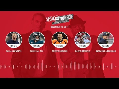 SPEAK FOR YOURSELF Audio Podcast (11.20.17) with Colin Cowherd, Jason Whitlock | SPEAK FOR YOURSELF