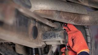 How to change Stabilizer bushes on MERCEDES-BENZ M-CLASS (W163) - online free video