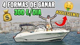 4 Simples Formas de Poder GANAR 300€/DÍA Siendo Adolescente en 2018