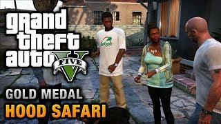 GTA 5 - Mission #27 - Hood Safari [100% Gold Medal Walkthrough]