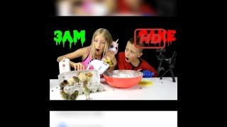 DO NOT BAKE A CAKE AT 3 00AM    SO SCARY!!!!
