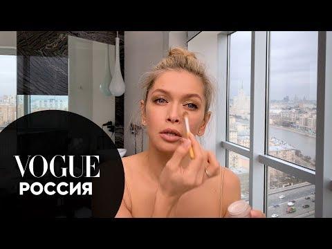 Секреты красоты: Вера Брежнева показывает, какой макияж сделать на Новый год 2020
