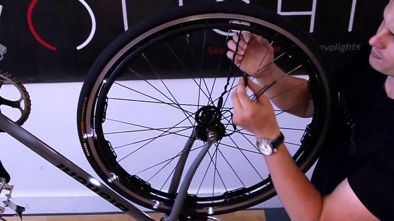 Revolights CITY 20 Bike Lights Installation Pt 4 Magnet