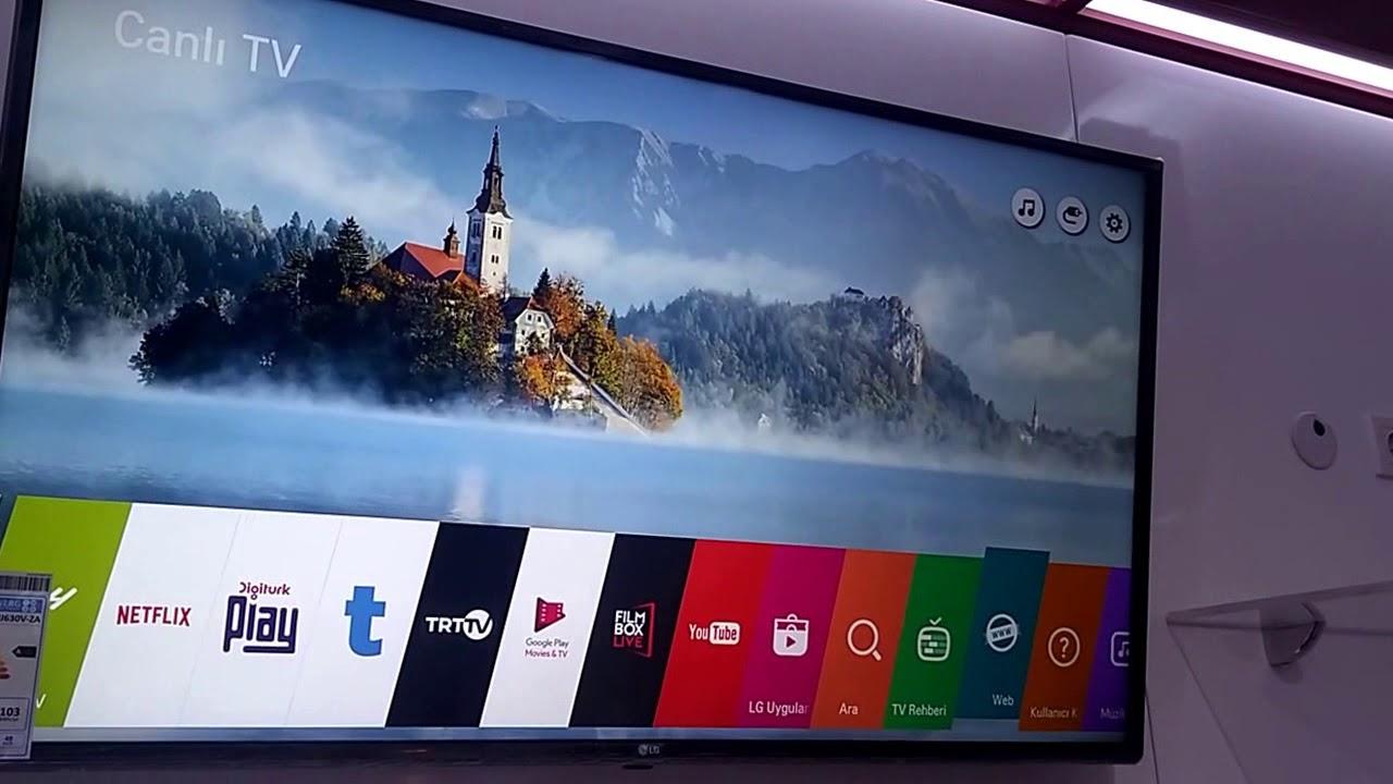 lg 49uj630v uhd 4k uydu alicili webos 3 5 smart tv tanitim ve nceleme eng sub youtube. Black Bedroom Furniture Sets. Home Design Ideas