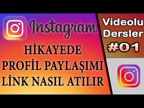 Instagram Hikayede Profil Paylaşma - Hikaye Link Atma - Profil Paylaşımı