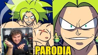 BROLY VS KEFLA | PARODIA DRAGON BALL SUPER BROLY | BYPRODIGYX