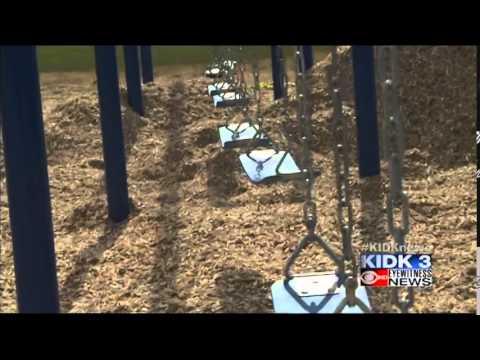 Terreton Elementary School Gets New Playground