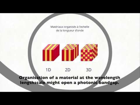 ESPCI video on Making a Macroscopic Photonic Material