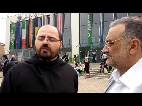 Padre Alfonso Longobardi presenta il suo libro edito da editoriale progetto 2000 al #SalTo16