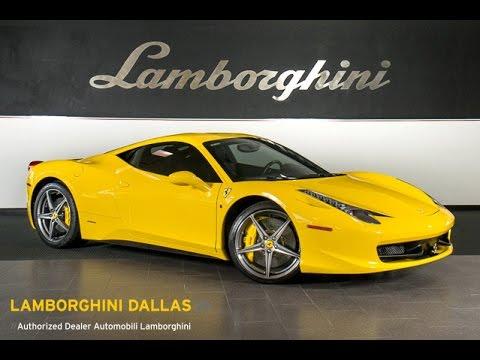 2011 Ferrari 458 Italia Yellow LC327