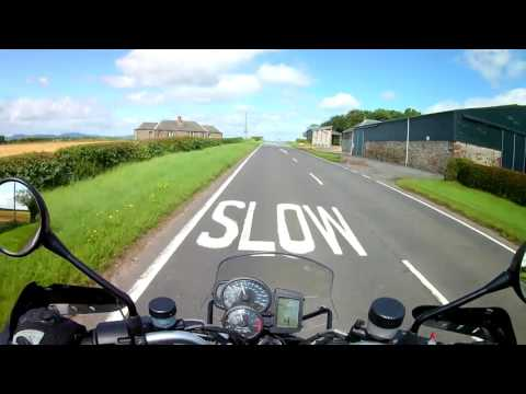 Perth/Scone to Blairgowrie on a BMW R1200r