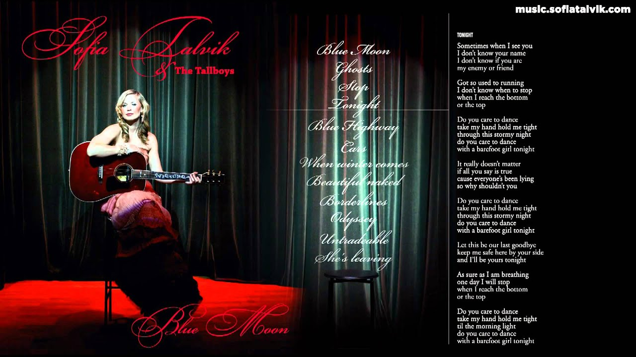 Download Sofia Talvik - 04. Tonight - Blue Moon (YouTube Album)