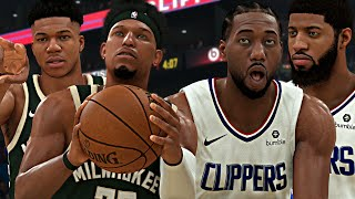 NBA 2K20 MyCAREER - KAWHI & PG13 SCORES 70 POINTS! New Look LA Clippers! [ EP.7 ]