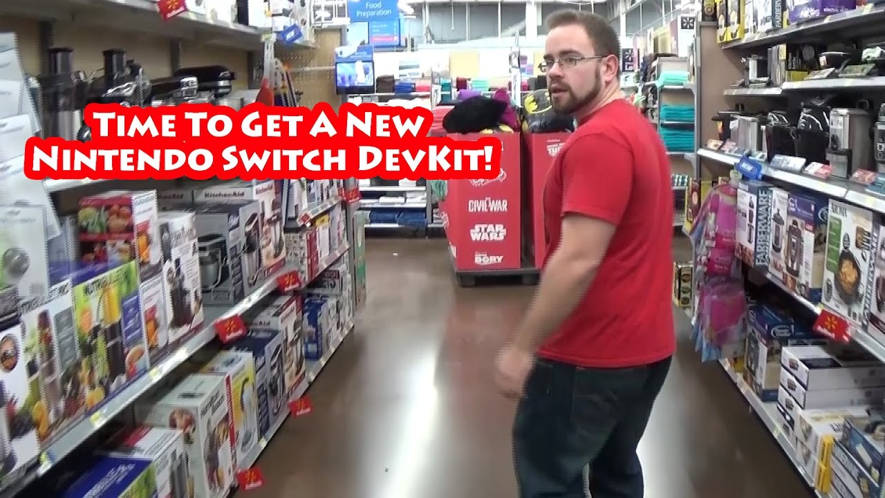 Time To Get A New Nintendo Switch Devkit!