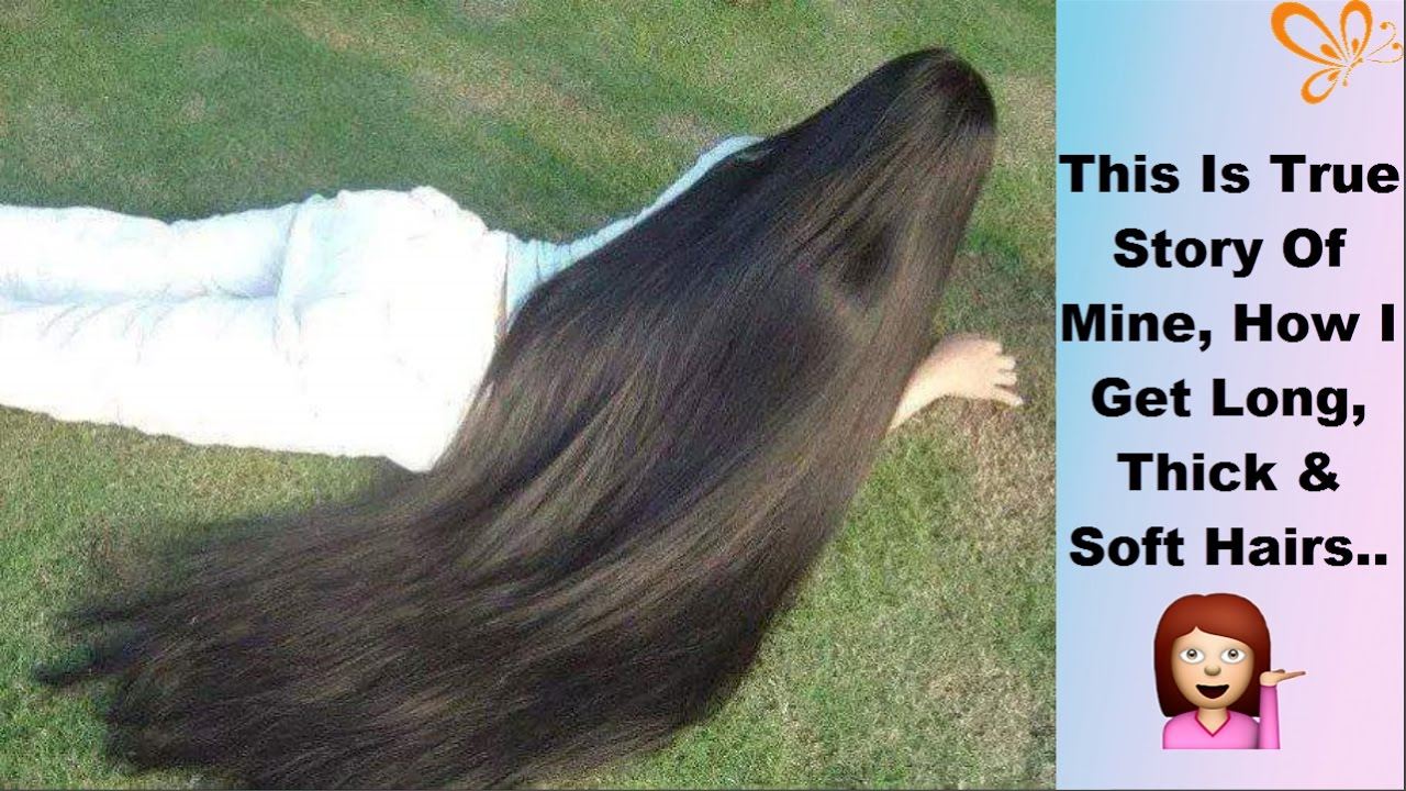 How To Grow Hair Fast In One Month  Get Soft, Shiny -3524