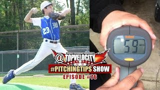 what drills will get my 8u pitcher throwing harder ep76 topvelocity pitchingtips show