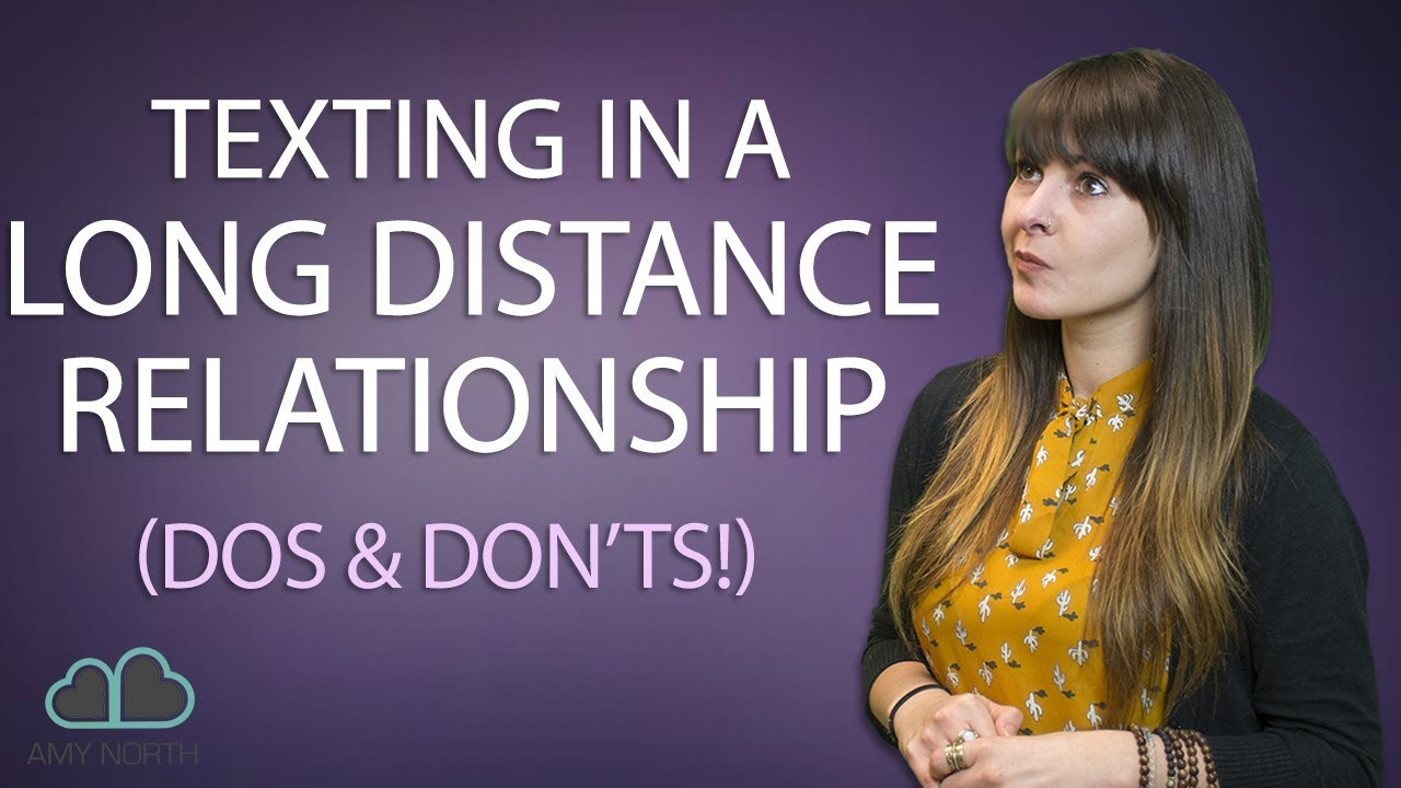 long distance dating texting
