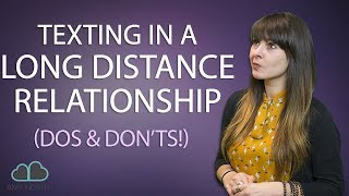 Texting In A Long Distance Relationship   Make It Last!