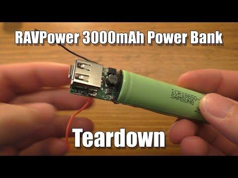 RAVPower 3000mAh Power Bank Teardown