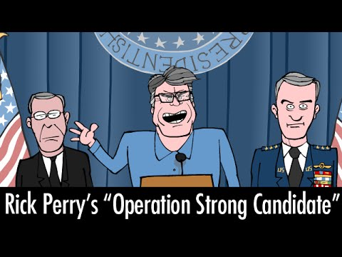 Rick Perry's Operation Strong Candidate