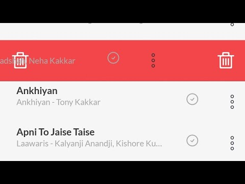 how to delete downloaded songs in jio saavn